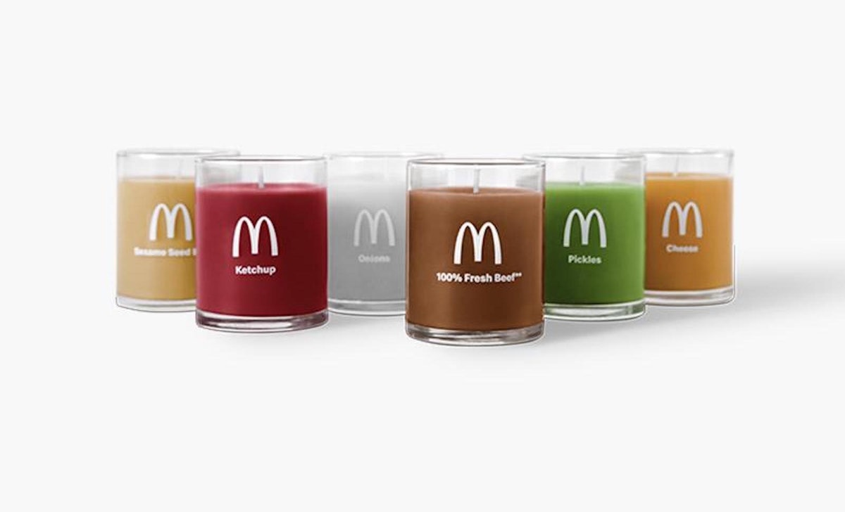 McDonald's is selling Quarter Pounder Candles on the Golden Arches Unlimited online store.