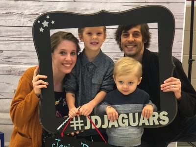 Jill Dillard — who was homeschooled alongside her 18 siblings —has  registered her son, Israel, for kindergarten.