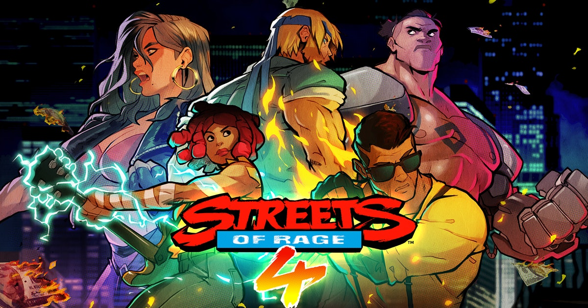 'Streets of Rage 4' finally upgrades an essential part of the game's multiplayer