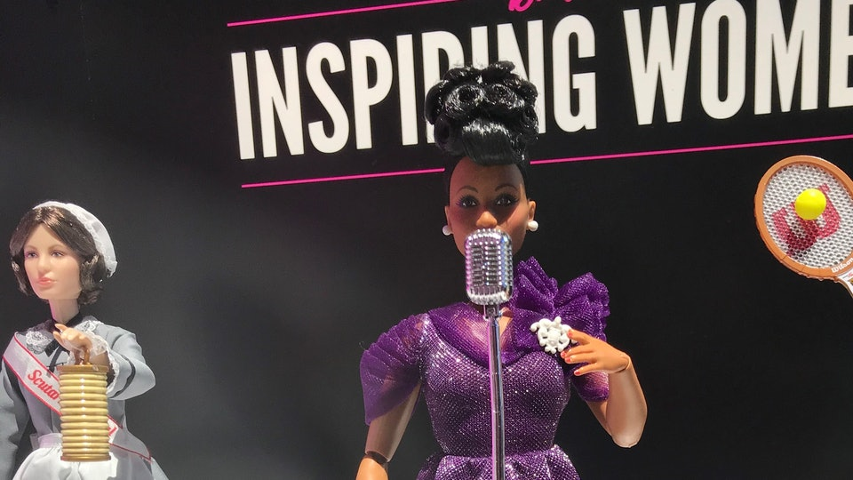 inspiring women Barbie series/ella fitzgerald barbie