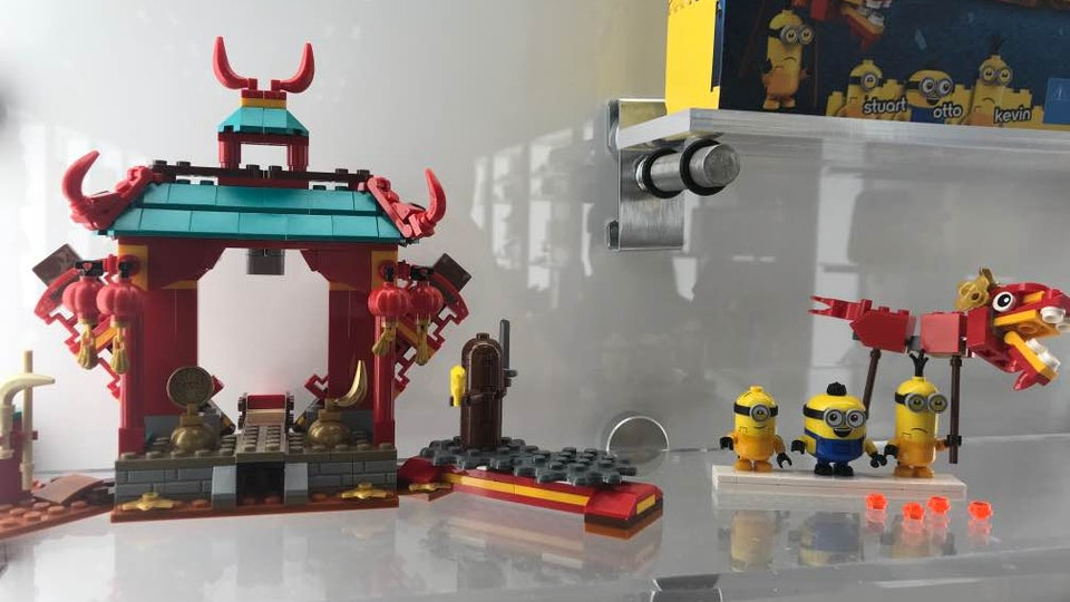 LEGO Minions Kung Fu Battle Set