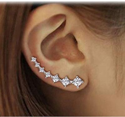 Elensan Crystals Climber Earring