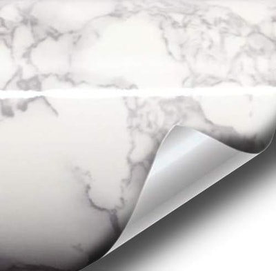 VViViD XPO Grey Marble Contact Paper