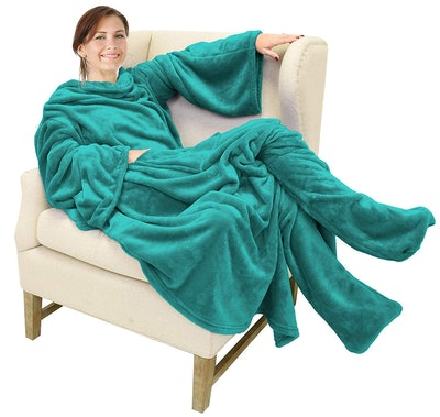 Catalonia Wearable Blanket with Sleeves and Foot Pockets