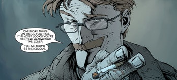 Jim Gordon Batman DC Comics