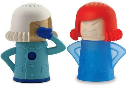 Keledz Microwave Cleaner Angry Mom with Fridge Odor Absorber Cool Mom (2-Pack)