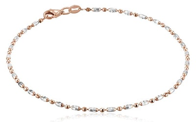 Amazon Collection Mezzaluna Chain Ankle Bracelet