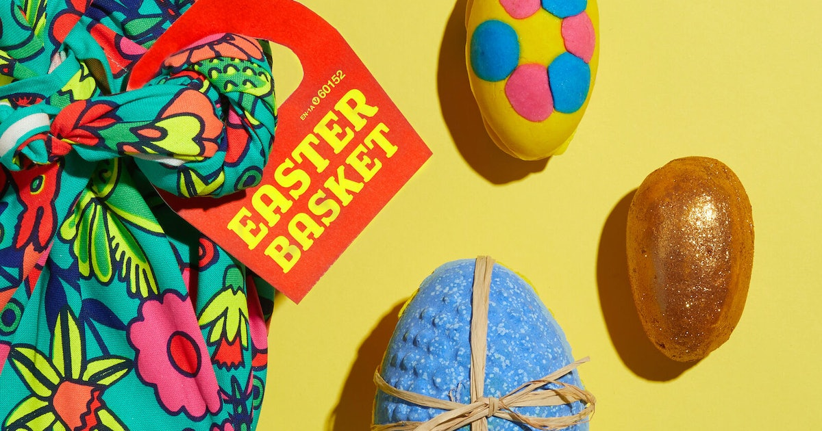 Lush's New Easter Egg-Inspired Bath Bombs Are Your Solution To Ethical Gifting