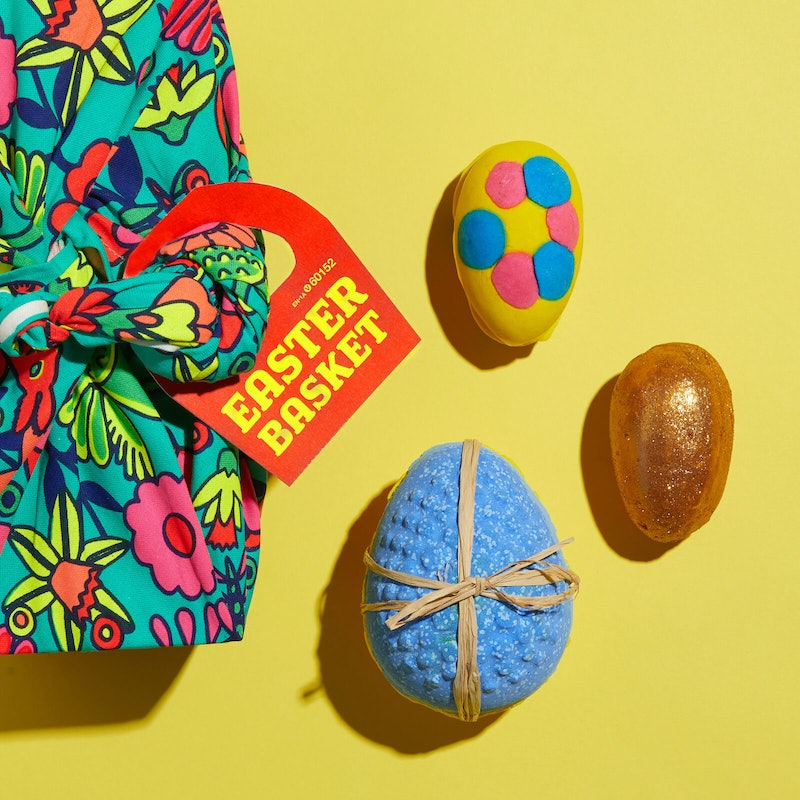 Lush's new Easter collection is vegan, self-preserving, low-waste, and adorable