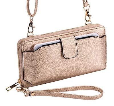 K . A Wristlet Wallet
