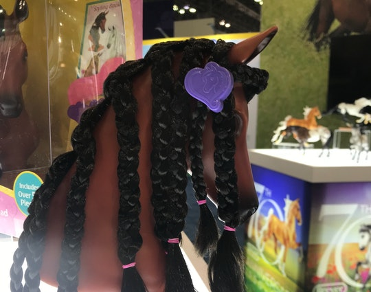 the new breyer horse styling head