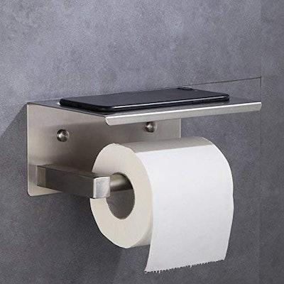 XVL Toliet Paper Holder with Phone Shelf