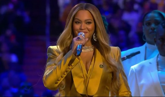 Singer Beyonce gave a moving performance at Kobe Bryant's farewell service at the Staples Center in ...