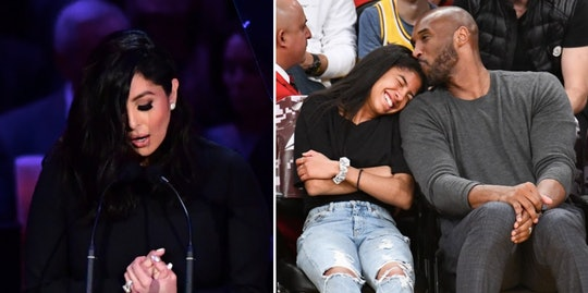 Vanessa Bryant's speech about Kobe and Gigi's close bond  was so heartbreaking.