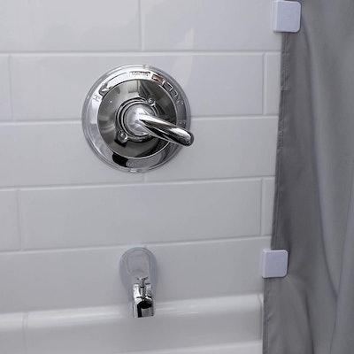 SlipX Solutions Shower Splash Clips