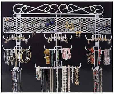 Jobar Wire Jewelry Organizer
