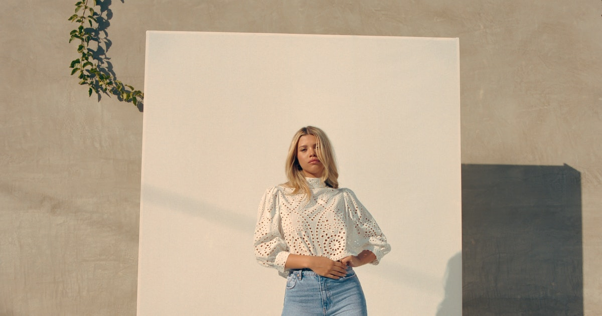 Sofia Richie's New Denim Collection Is A Tribute To Nostalgic '90s Style