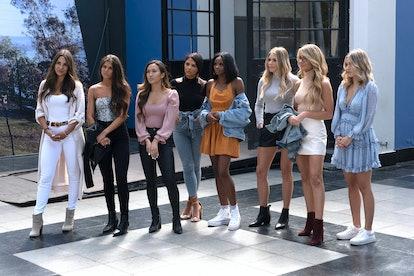 contestants on The Bachelor