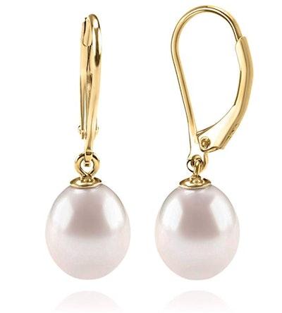 PAVOI Handpicked Freshwater Cultured Pearl Earrings