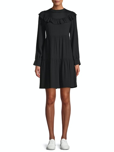 Time and Tru Tiered Ruffle Dress