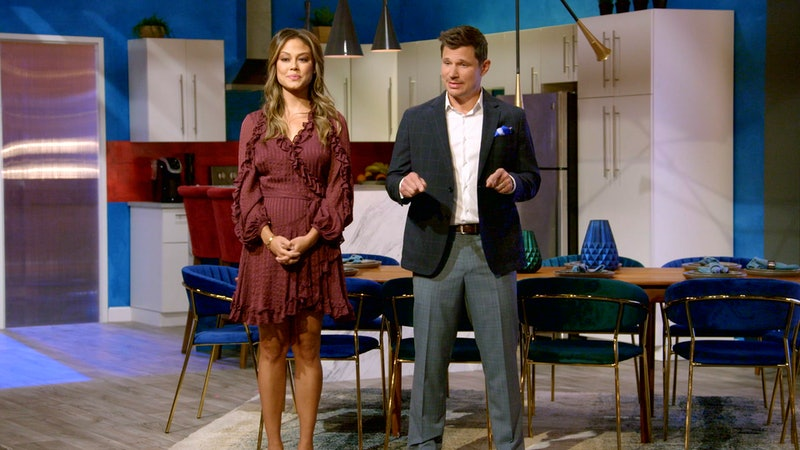 Vanessa and Nick Lachey in Love Is Blind