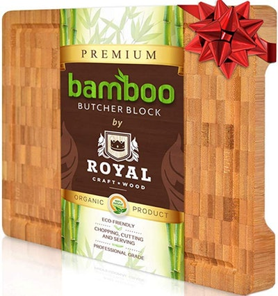 Royal Craft Wood Thick Bamboo Cutting Board