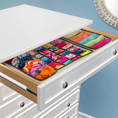 Sorbus Foldable Drawer Dividers (4-Pack)