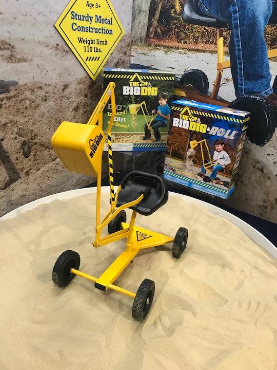 Big Dig Sandbox Digger Excavator Crane Toy