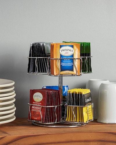 Nifty Tea Bag Spinning Carousel