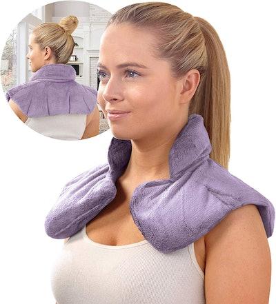 Sharper Image Hot/Cold Herbal Aromatherapy Neck & Shoulder Wrap