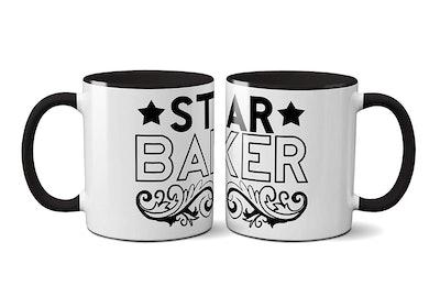 The Great British Bake Off Star Baker Mug Set