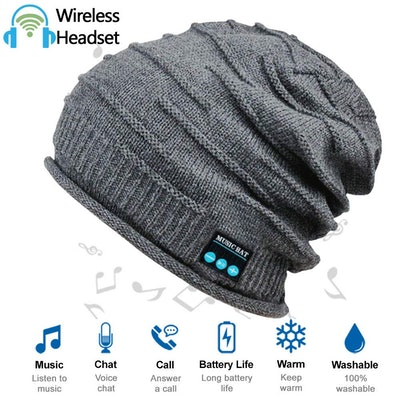 ADEAVE Upgraded Wireless Bluetooth Beanie Hat