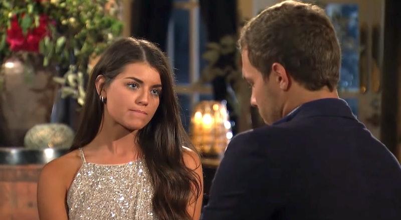 Madison and Peter on The Bachelor