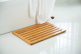 Mosa Bamboo Natural Bath Shower Mat