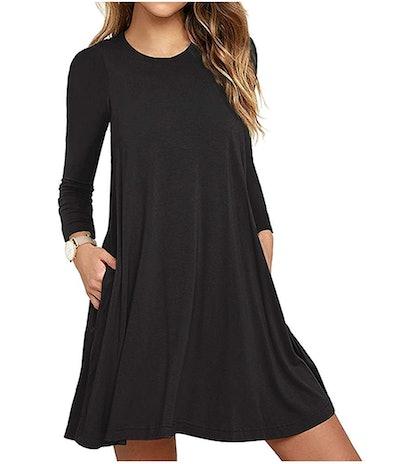 Unbranded Women's T-Shirt Dress