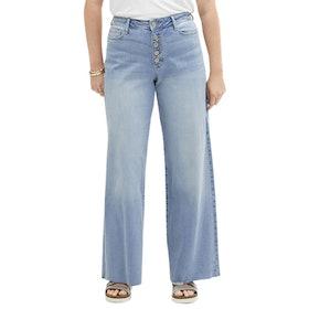 a.n.a Women's High-Rise Wide-Leg Jean