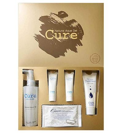 Cure Beauty Set   Contains: Natural Aqua Gel Cure, Cure Aqua Gel, Cure Water Treatment & Cure Bath T...