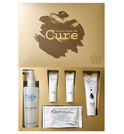 Cure Beauty Set | Contains: Natural Aqua Gel Cure, Cure Aqua Gel, Cure Water Treatment & Cure Bath Time