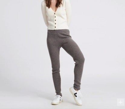 Cashmere Lounge Pants Heathered Brown