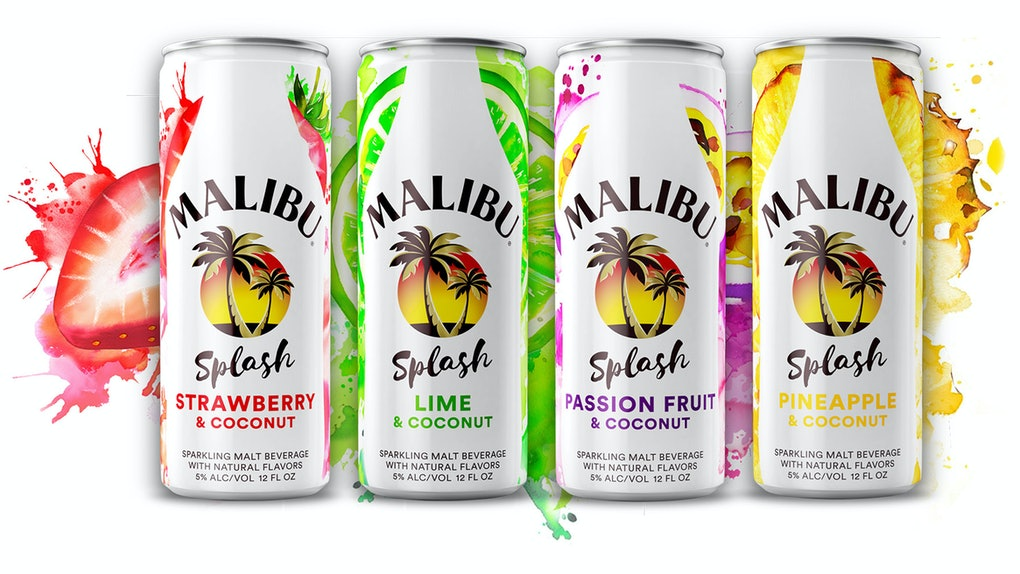 Is There Rum In Malibu Splash Canned Cocktails? The hard seltzer is a malt-based beverage.