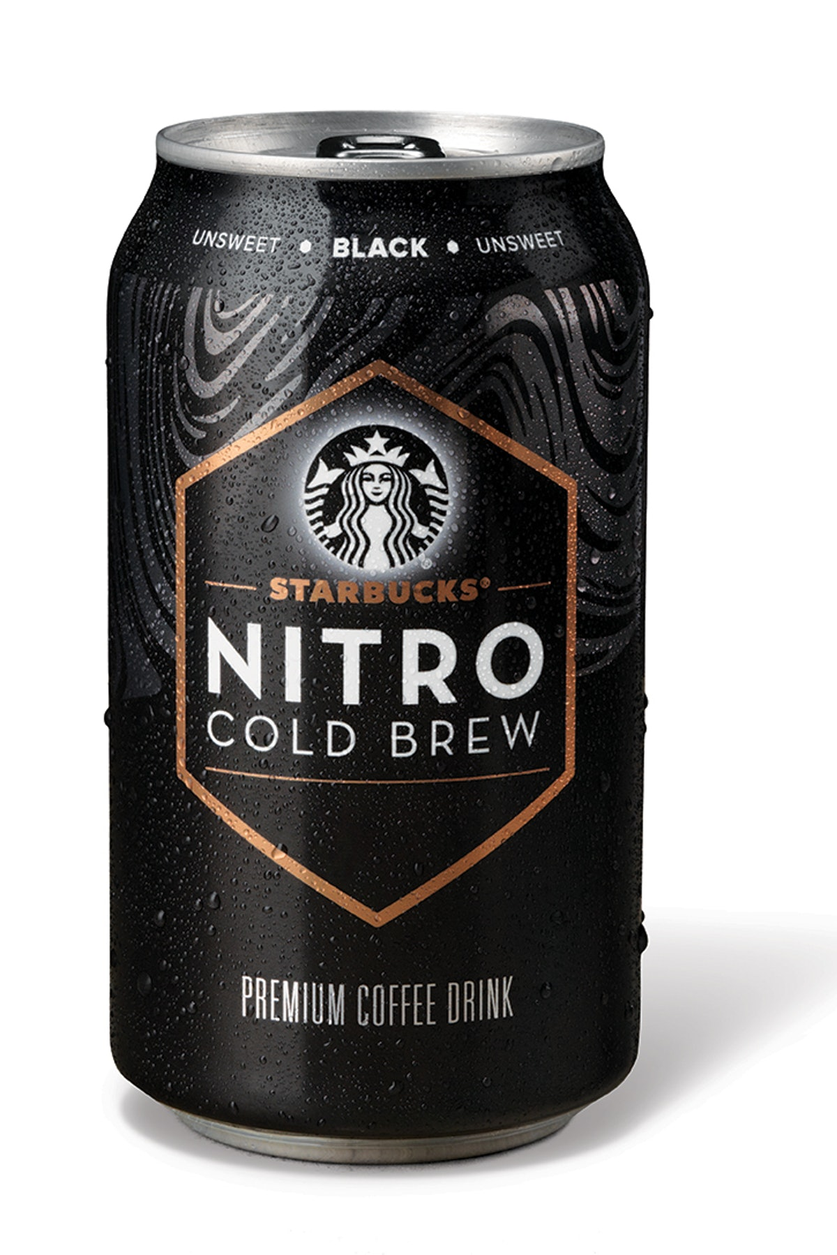 Starbucks Is Selling Nitro Cold Brew Cans in three flavors.