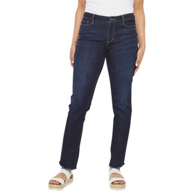 a.n.a Women's Wide-Cuff Straight Jean