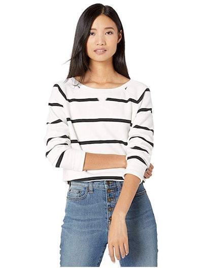 Goodthreads Women's Modal Fleece High-Low Sweatshirt