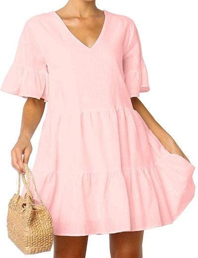 FANCYINN Women's Cute Shift Dress