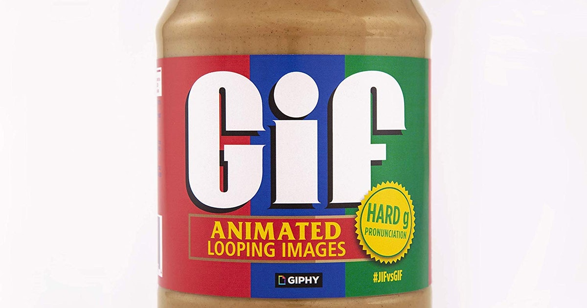 Limited-edition Jif peanut butter jar claims GIF is pronounced with a hard 'G'