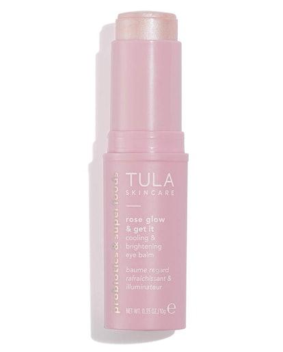 TULA Skin Care Rose Glow & Get It Cooling & Brightening Eye Balm