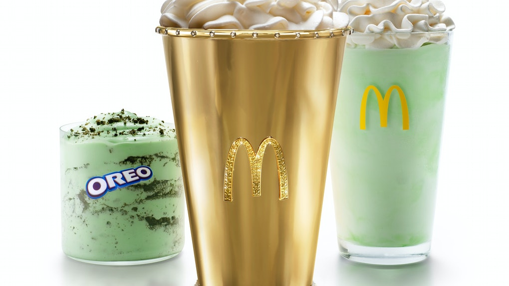Here's how to win a Golden Shamrock Shake from McDonald's for a St. Patrick's Day celebration.
