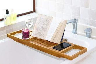 DOZYANT Bamboo Bathtub Tray