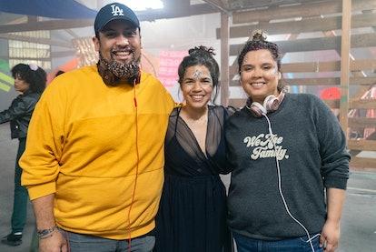 America Ferrera   Marvin Lemus and Linda Chavez of Gentefied