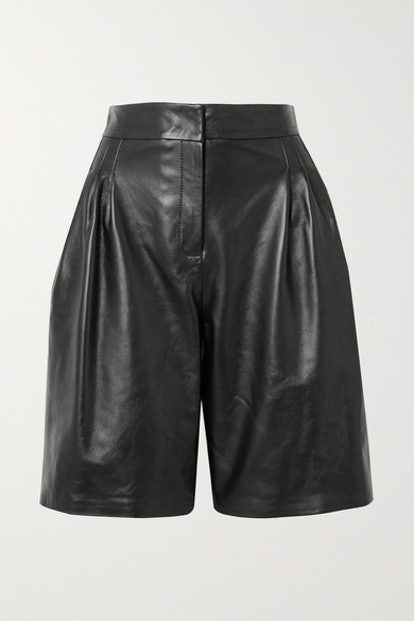 Grant Leather Shorts